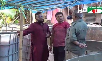 নারায়ণগঞ্জের আড়াইহাজারে দুই তরুণের বায়োফ্লক প্রকল্প