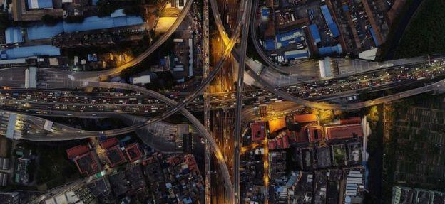 চীনের গুয়াংঝু বিশ্বের সবচেয়ে কোলাহলপূর্ণ শহর