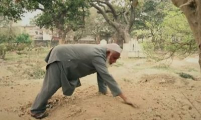 ছেলের মৃত্যুর পর মোহাম্মদ শরীফ বেওয়ারিশ মৃতদেহ সৎকার শুরু করেন