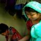 দিনাজপুরের মাধবপুর গ্রামে চিড়াকুটি পাড়া