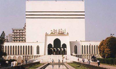 আলোকিত স্থাপনা বায়তুল মোকাররম মসজিদ