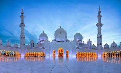 আলোকিত স্থাপনা: শেখ জায়েদ গ্র্যান্ড মসজিদ