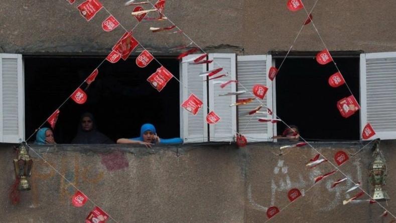 মিসরের একটি শহরে রোজার সময়ে এভাবে সাজানোর প্রচলন আছে। দেশটিতে এখন কারফিউ চলছে