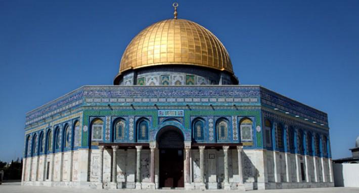 আলোকিত স্থাপনা: আল-আকসা মসজিদ
