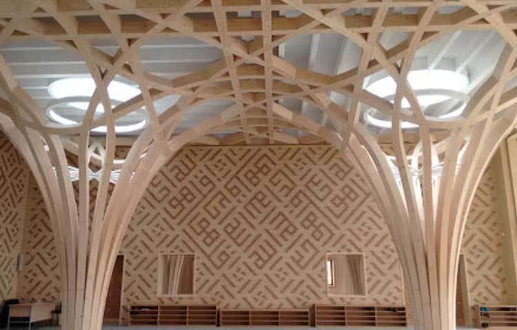 ২০১৬ সালের সেপ্টেম্বরে মসজিদটির নির্মাণ কাজ শুরু হয়। চলতি বছরের শুরুর দিকেই মসজিদ নির্মাণ শেষ হয়।