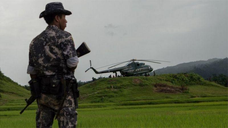 সুপরিকল্পিতভাবে গণহত্যা চালানোর অভিযোগ আনা হচ্ছে মিয়ানমারের সামরিক বাহিনীর বিরুদ্ধে