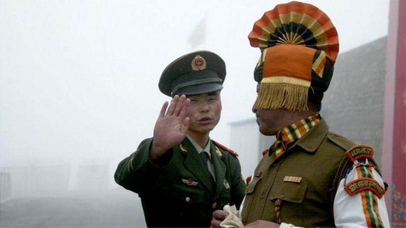 চীন ও ভারতের মধ্যে দীর্ঘদিনের সীমান্ত বিরোধের ইতিহাস রয়েছে