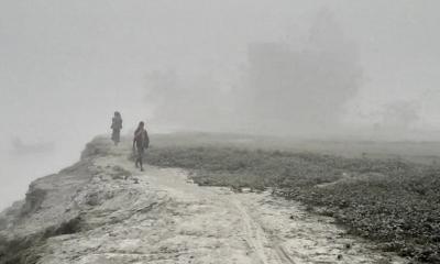 দেশের সর্বনিম্ন তাপমাত্রা আজ কুড়িগ্রামে, বৃষ্টির মতো কুয়াশা ঝরছে