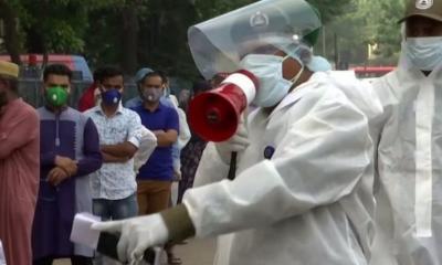 করোনাভাইরাস: 'বাংলাদেশে সংক্রমণ ঠেকানোর ব্যবস্থা ভেঙ্গে পড়েছে'