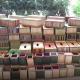 মধুপুরে কলাগাছের বাকল ও আনারসের পাতায় তৈরি পণ্য