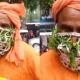 নিম-তুলসিপাতার মাস্ক পরে ঘুরছেন ভারতীয় সাধু