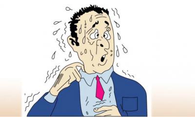 অতিরিক্ত ঘাম হতে পারে রোগের উপসর্গ