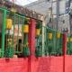 কুমিল্লায় ফুটপাতে ফুলের টবে দৃষ্টিনন্দন বাগান
